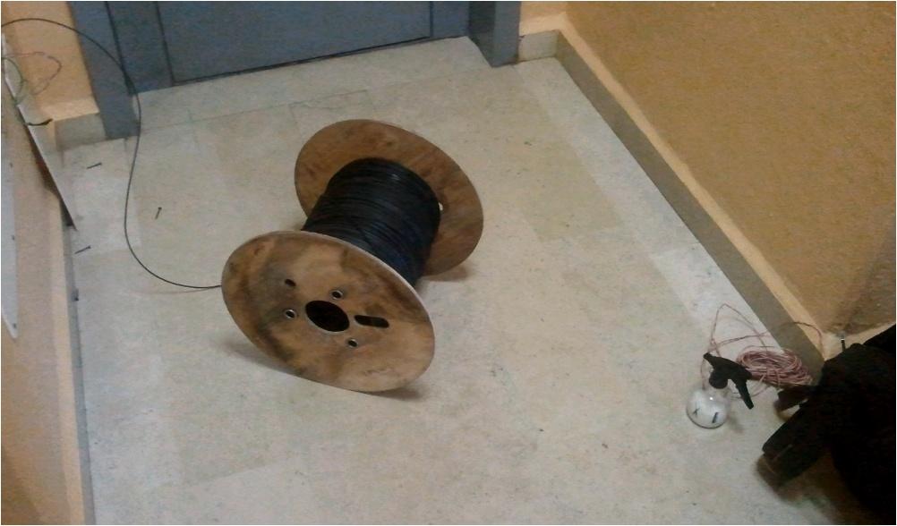 Nel caso del collegamento totale in fibra viene tolto for Collegamento del tubo di rame al pex